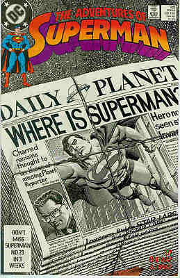 Adventures of Superman # 451 (Jerry Ordway) (USA, 1989)