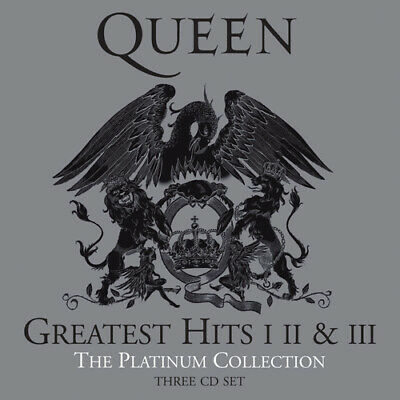 Queen : Greatest Hits I II & III: The Platinum Collection CD (2011)