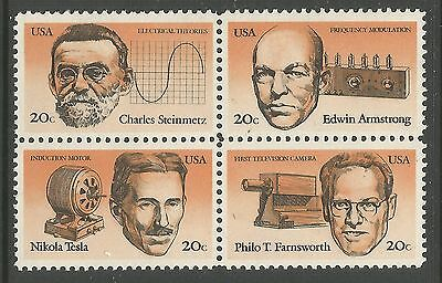 UNITED STATES. 1983. American Inventors Set. SG: 2048a. Mint Never Hinged.