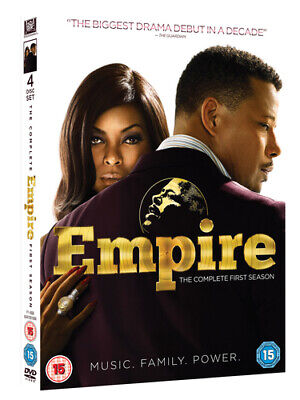 Empire: The Complete First Season DVD (2015) Terrence Howard