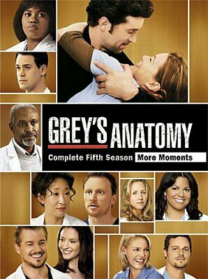 Greys Anatomy: Complete Fifth Season [DV DVD