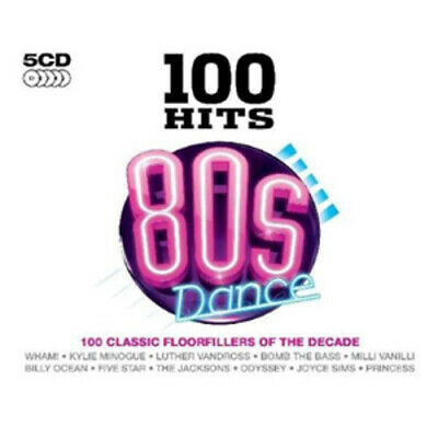 Various Artists : 100 Hits: 80s Dance CD (2009)