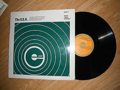 The Usa 2 Talks On Usa By Alistair Cooke Bbc 1970 Rare Lp Exc