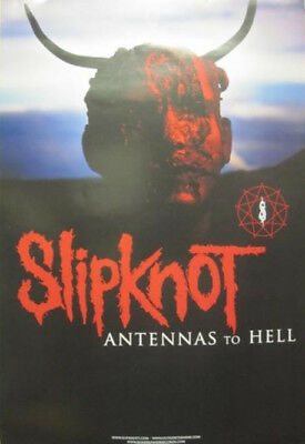 SLIPKNOT 2012 ANTENNAS TO HELL promotional poster ~NEW old stock & MINT~!