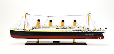 "RMS Titanic White Star Line Cruise Ship Model 40"" Museum Quality"