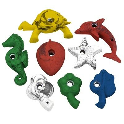 "8 climbing holds ""Fantasia"" for kids children children's climbing climb stones"