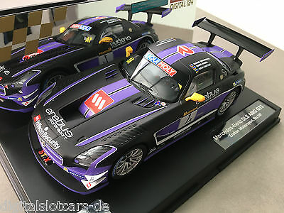 "Carrera Digital 124 23812 Mercedes Benz SLS AMG GT3 ""Erebus Motorsport, No.1 A"""