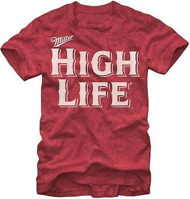 Miller High Life Red Color T-Shirt