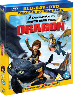 How to Train Your Dragon Blu-ray (2010) Dean DeBlois cert PG Fast and FREE P & P