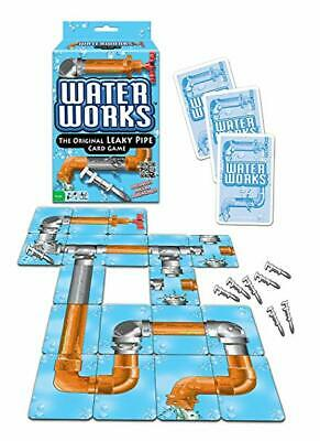 WATER WORKS Card Game LEAKY PIPE toy plumber METAL WRENCHES Classic 1970s Sealed