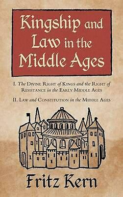 Kingship and Law in the Middle Ages by Fritz Kern (English) Hardcover Book Free