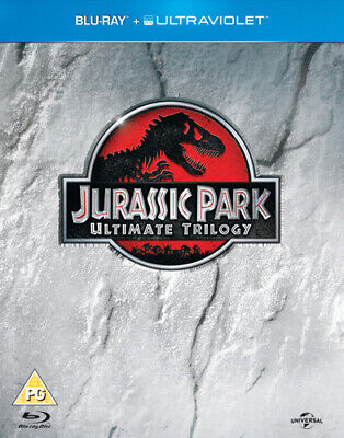 Jurassic Park: Trilogy Collection Blu-ray (2013) Richard Attenborough