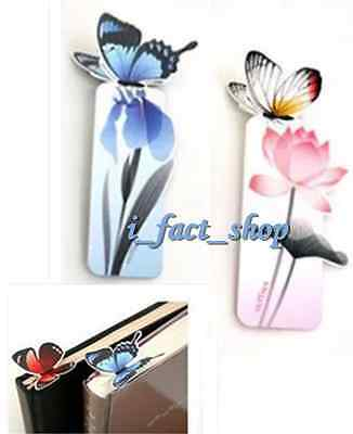 8x Practical Butterfly Book Marker Note Pad Kids Stationery & Office Supply IFA
