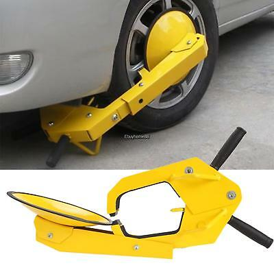 Anti Theft Car Tire Parking ATV RV Boot Wheel Clamp Boat Tow Truck Trailer Lock