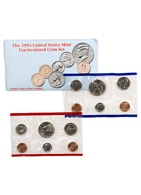 1994 United States US Mint Uncirculated Coin Set SKU1400