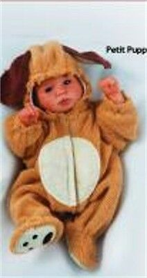Reborn Doll Kit 6 Inch Baby Asher With Puppy Outfit