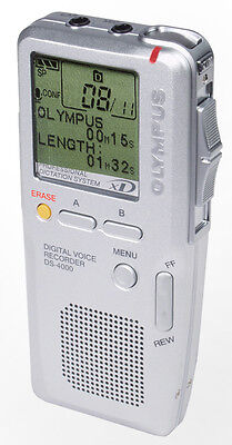 Olympus DS-4000 Digital Portable Voice Recorder Factory Refurbished DS4000