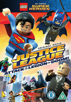 LEGO: Justice League - Attack of the Legion of Doom DVD (2015) Rick Morales