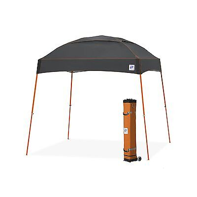 E-Z UP Dome Instant Shelter Canopy, 10 by 10ft, Steel Grey-DM3SO10SG NEW