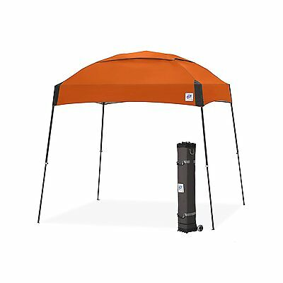 E-Z UP Dome Instant Shelter Canopy, 10 by 10ft, Steel Orange-DM3SG10SO NEW