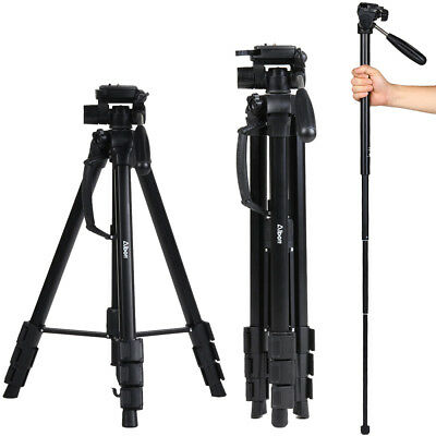 Professional Tripod Digital Camera DSLR Camcorder Travel For Canon Nikon Sony