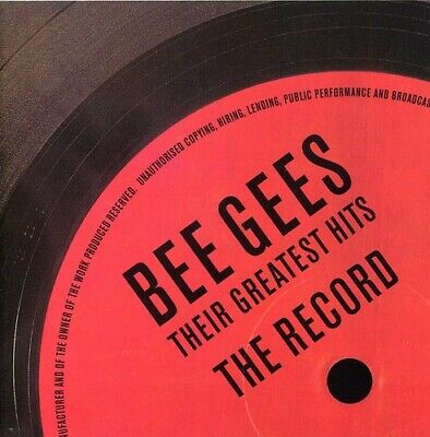 Bee Gees, The : Their Greatest Hits: the Recor CD Expertly Refurbished Product