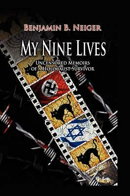 My Nine Lives by Benjamin Neiger (English) Hardcover Book Free Shipping!