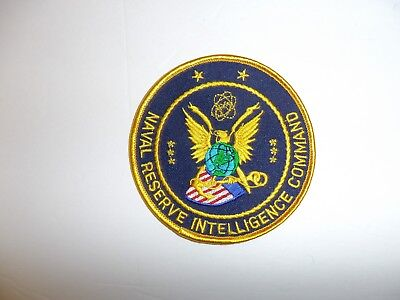 b2344 US Navy Intelligence patch Naval Reserve Command IR19C