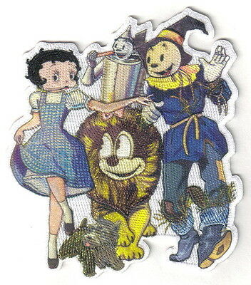 Betty Boop As Dorothy in The Wizard of Oz Movie Group Embroidered Patch NEW