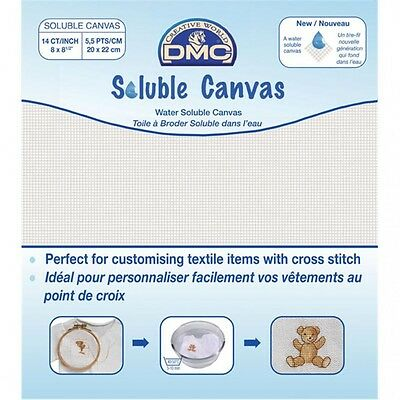 DMC Soluble Canvas  White - per sheet (DC90)