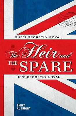 The Heir and the Spare by Emily Albright (English) Hardcover Book Free Shipping!