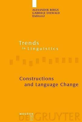 NEW Constructions and Language Change by Hardcover Book (English) Free Shipping