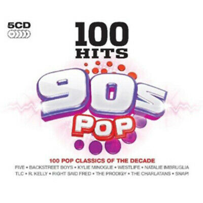Various Artists : 100 Hits: 90s Pop CD (2009)