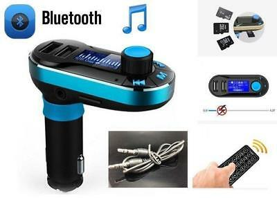 Bluetooth Car Kit FM Transmitter MP3 Player SD USB Charger  iPhone 7s/ 7s Plus