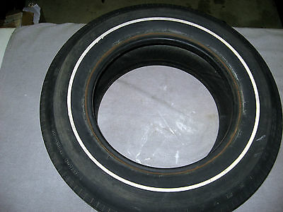 Original F70 X 15 Uniroyal Tiger Paw white stripe tire 1968 1969  Corvette