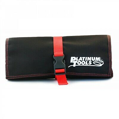 Platinum Tools 4007 Ballistic Nylon Storage Pouch with 3 Zipper Compartments
