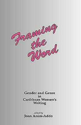 Framing the Word by J Anim-Addo (English) Hardcover Book Free Shipping!