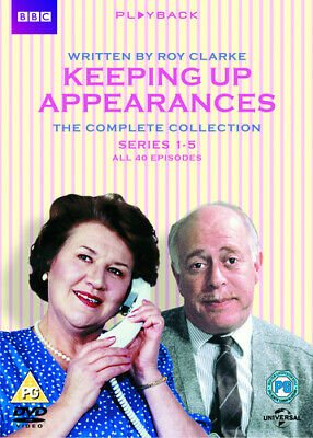 Keeping Up Appearances: Series 1-5 DVD (2013) Patricia Routledge, Snoad (DIR)