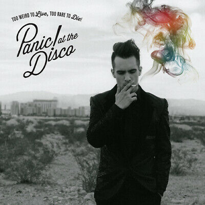 Panic! At The Disco : Too Weird to Live, Too Rare to Die CD (2013)