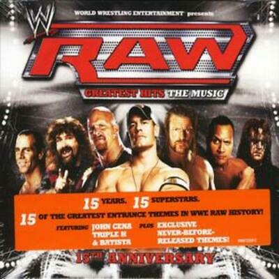 Various Artists : Wwe - Raw Greatest Hits: The Music CD (2008) Amazing Value