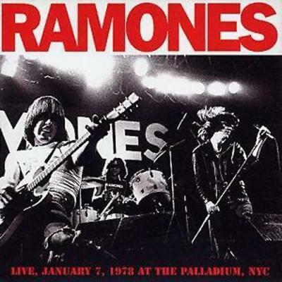 The Ramones : Live, January 7 1978, at the Palladium, NYC CD (2004) ***NEW***