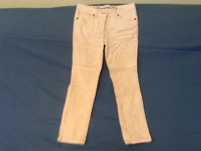 Girls 7-8 Years - Light Pink Stretch Jeans Trousers - Denim Co.