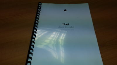 APPLE iPAD AIR IOS7 PRINTED INSTRUCTION MANUAL USER GUIDE 135 PAGES A5
