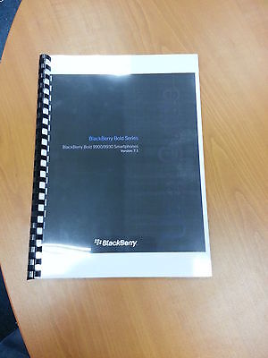 Blackberry Bold 9900 Full Printed User Manual Guide Instructions 369 Pages A5