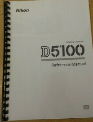 Nikon D5100 Camera Fully Printed Instruction Manual User Guide 260 Pages A5