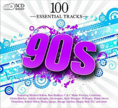 Various Artists : 100 Essential Hits of the 90s CD (2009)