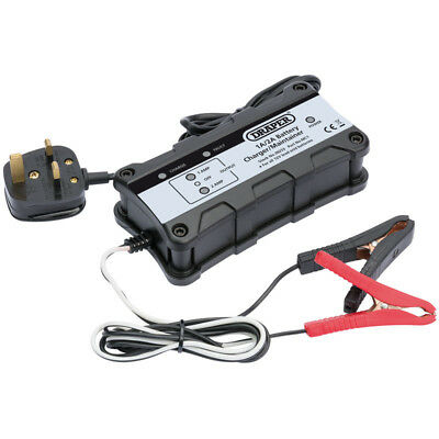 Draper 12V Automatic Intelligent Smart Battery Charger/Maintainer 38253