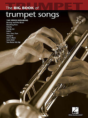 Big Book Of Trumpet Songs Songbook New