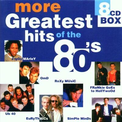 Various Artists : More Greatest Hits of the 80s CD Expertly Refurbished Product