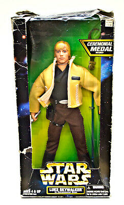 Star Wars Luke Skywalker in Ceremonial Gear 1997 Kenner Action Figure 27907 12""